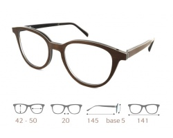 Havana01.01 Gold & Wood glasses, luxury, opthalmic eyeglasses